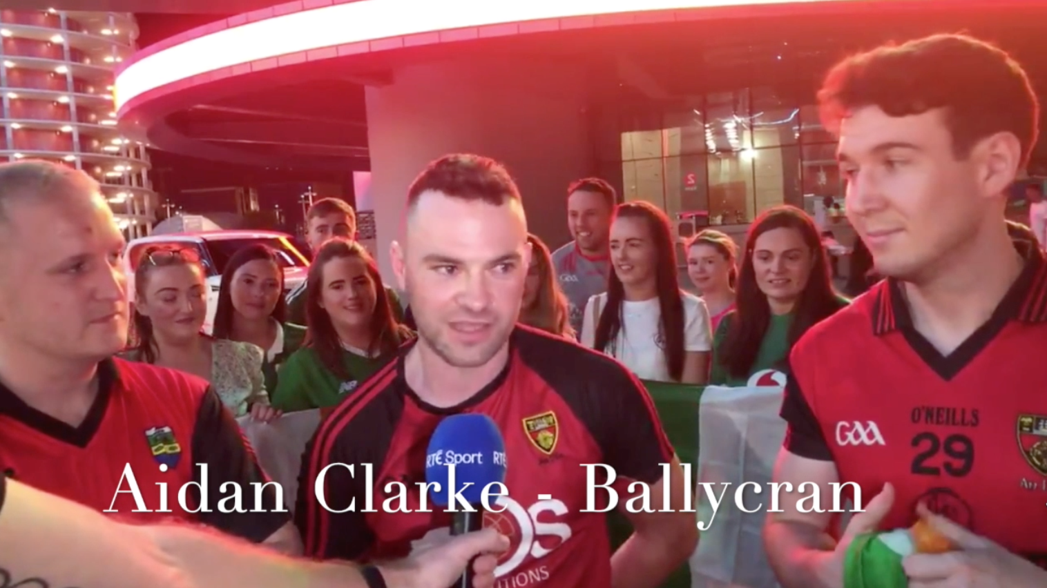 Ballycran's Aidan Clarke Shares His Thoughts On Living Abroad