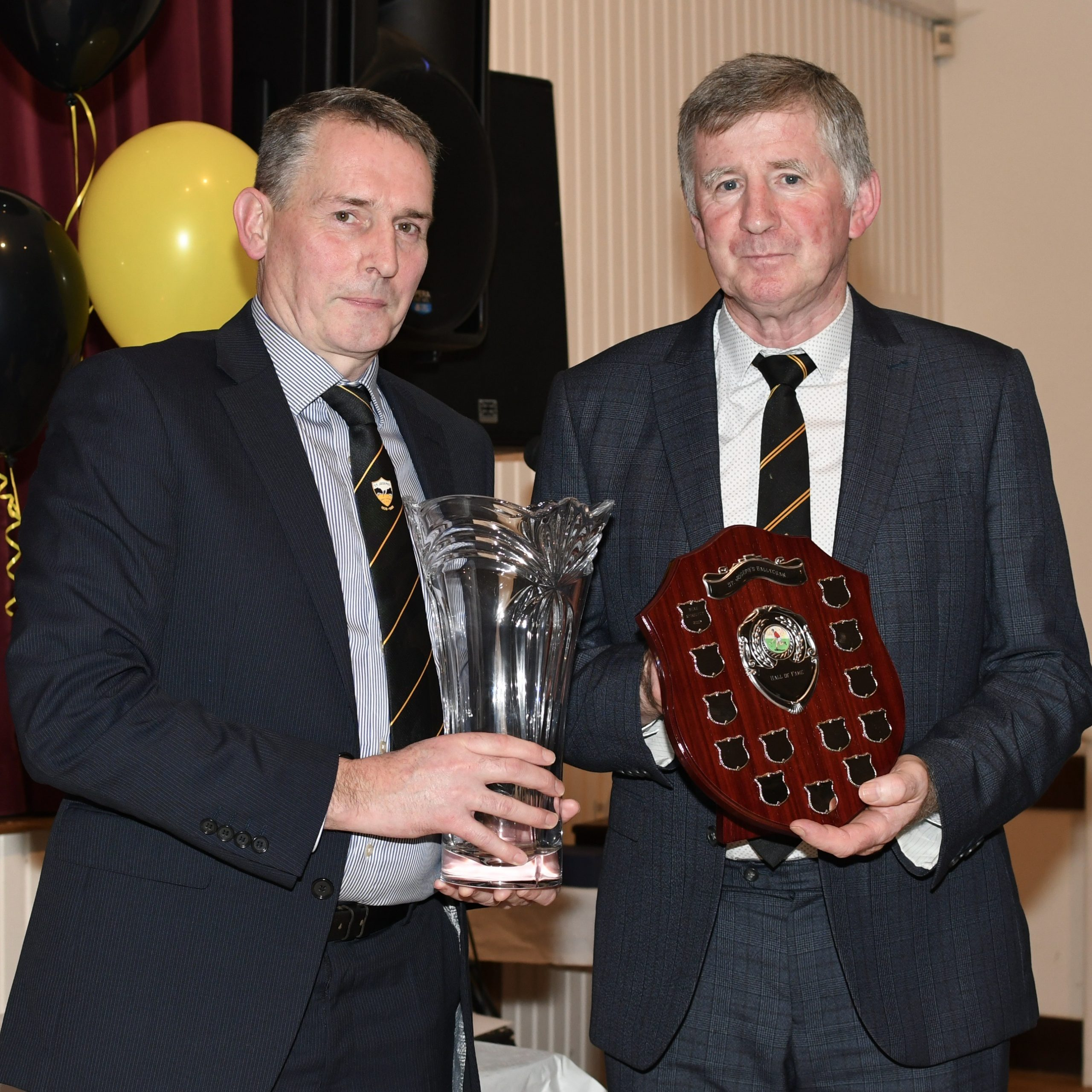 Sean McGourty becomes Ballycran's latest Inductee into the Hall of Fame