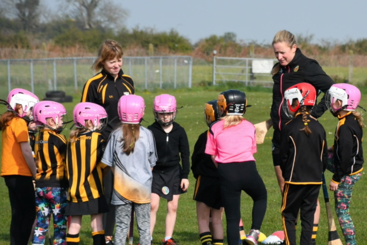 Spring at the Park last year and a camogie féile to remind us what's around the corner