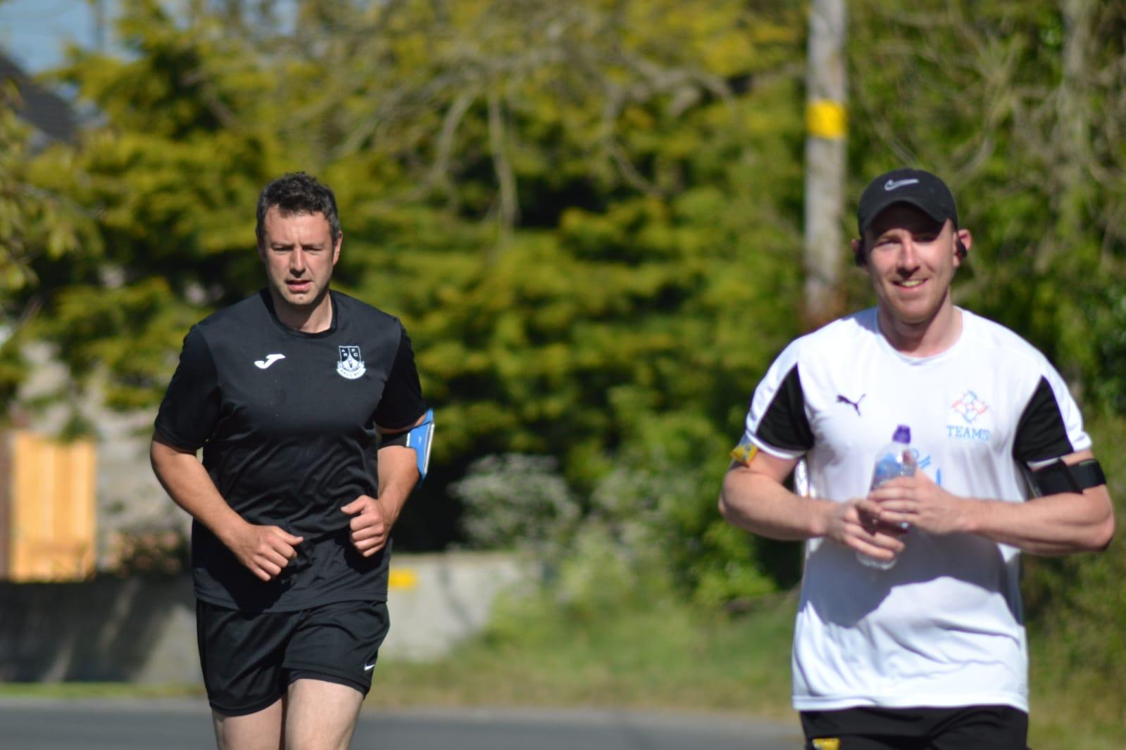 Ballycran's Chris Egan solo runs without a stick in aid of Mental Health Charities – Update 2