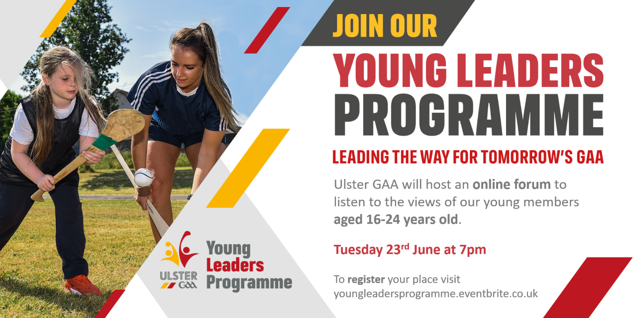 Ulster GAA announce their Young Leaders Programme