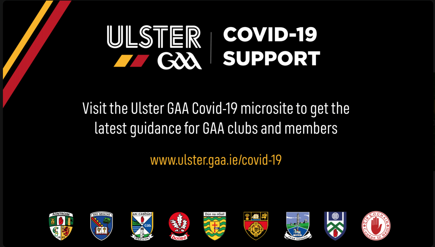Ulster GAA provide six county clarification on Covid-19 variances